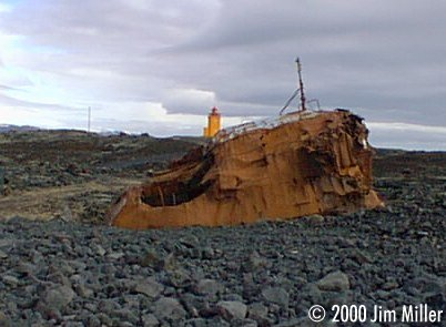 Shipwreck and Lighthouse ©1999 Jim Miller - Olympus D-220L