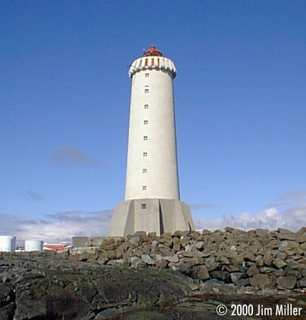 Akranes Lighthouse - Another View ©1999 Jim Miller - Olympus D-220L