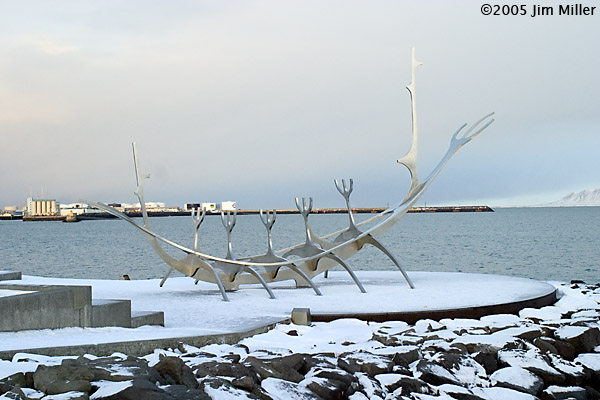 Viking Ship Statue © 2005 Jim Miller - Canon 10D, Canon EF 35mm f2.8