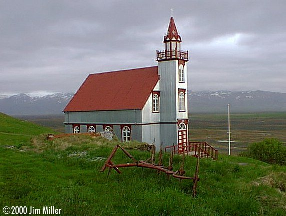 Church at Hliðarendi ©1999 Jim Miller - Olympus D-220L